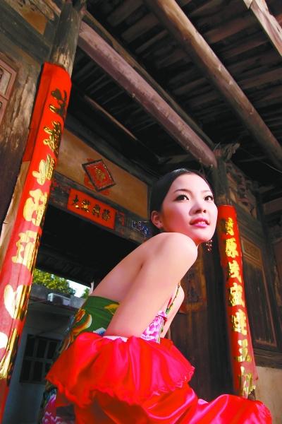 红棉娃娃简笔画