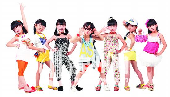 儿童舞 头发造型