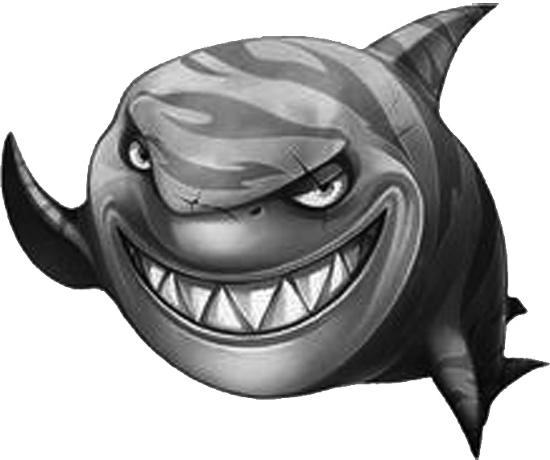 怎样画鲨鱼简笔画图片
