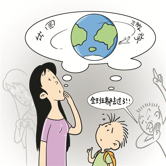 欧美卡通小孩素材