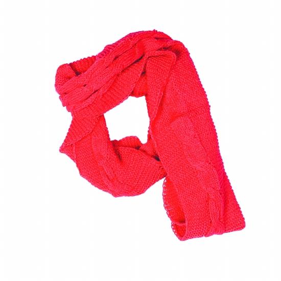 结围巾的步骤图解