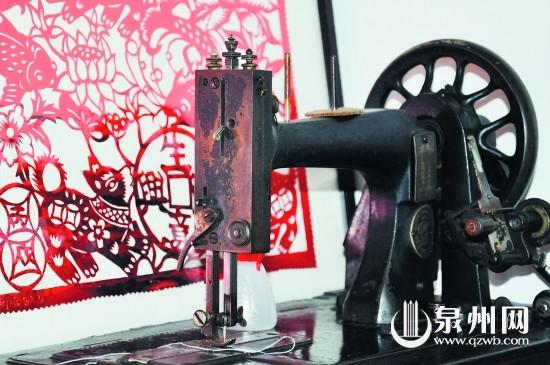 牡丹花 缝纫机/这台缝纫机可是当年的高档嫁妆。