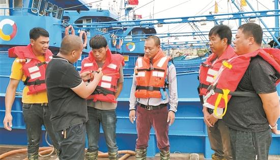台商区开展水上突发事件应急演练 提高自救水平