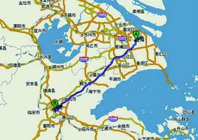 杭州到上海将只需38分钟