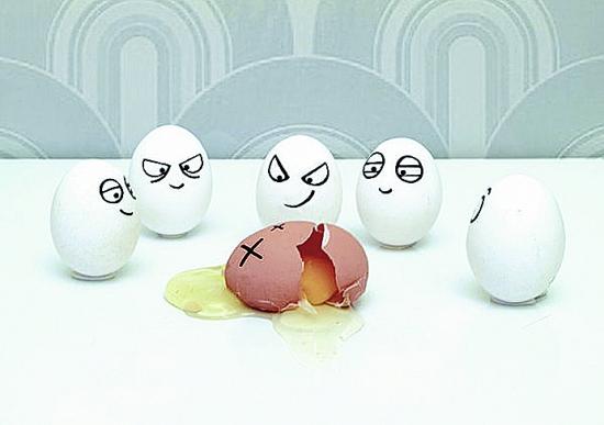 鸡蛋画画可爱宝宝图片