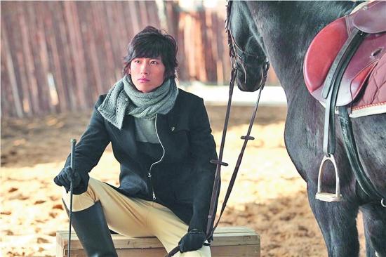泉州山上骑马人物