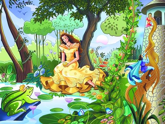人演绎的童话故事!