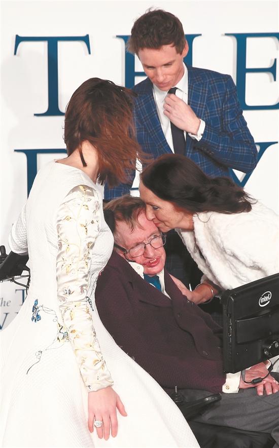 霍金妻子简怀尔德图片_霍金与第一任妻子珍怀尔德的婚礼。怀尔德后