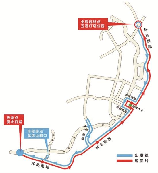 上海马拉松2017线路图