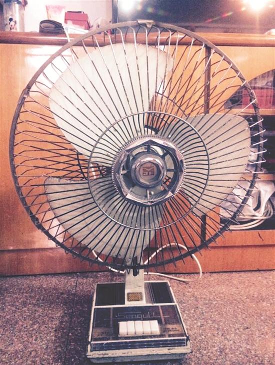 海鸥牌电风扇,1984年购于钟楼百货,这是一位老泉州人积攒了两个月的