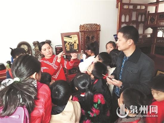 泉州东海湾实验学校学记参观闽南古早生活用品