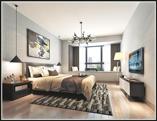 北欧简约主义风格设计中,就是简约,现代的欧式风格,色调主要以浅色系