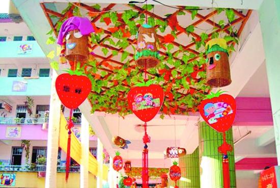 幼儿园走廊吊饰布置幼儿园走廊吊饰幼儿园走廊吊饰