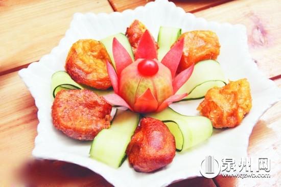 咸馅和甜馅的炸地瓜团-暖冬菜热乎乎